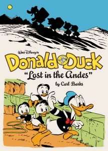 Walt Disney's Donald Duck: Lost in the Andes Cover