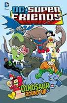 DC Super Friends - Dinosaur Round-Up