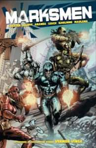 Marksmen Trade Paperback Cover