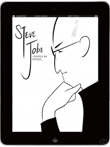 Steve Jobs Biography Graphic Novel Campfire - cover