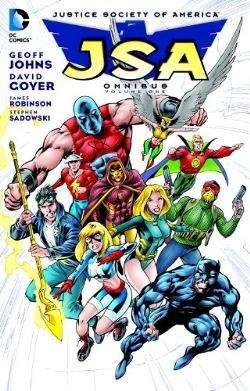JSA Omnibus Volume One Cover